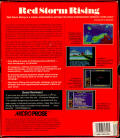Red Storm Rising Amiga Back Cover