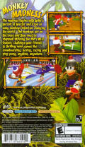 Ape Escape: On the Loose PSP Back Cover