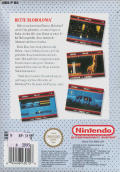 David Crane's A Boy and His Blob: Trouble on Blobolonia NES Back Cover