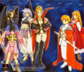 Rhapsody: A Musical Adventure PlayStation Inside Cover Left Inlay