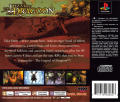The Legend of Dragoon PlayStation Back Cover
