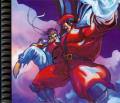 Street Fighter Alpha 3 PlayStation Inside Cover