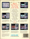 The Third Courier Amiga Back Cover