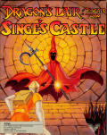 Dragon's Lair: Escape from Singe's Castle Amiga Front Cover