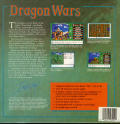 Dragon Wars Amiga Back Cover