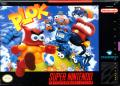 Plok SNES Front Cover