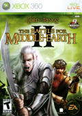 The Lord of the Rings: The Battle for Middle Earth II Xbox 360 Front Cover