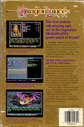 Champions of Krynn Amiga Back Cover