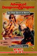 The Dark Queen of Krynn Amiga Front Cover