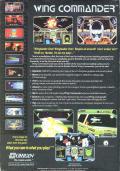Wing Commander DOS Back Cover