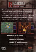 Ricochet Lost Worlds Windows Back Cover
