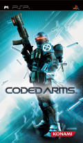Coded Arms PSP Front Cover