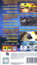 Street Riders PSP Back Cover