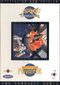 Strike Commander and Wing Commander: Privateer TwinPack DOS Front Cover