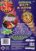 Bust-A-Move 2: Arcade Edition SEGA Saturn Back Cover