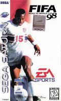 FIFA 98: Road to World Cup SEGA Saturn Front Cover