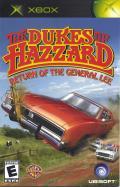 The Dukes of Hazzard: Return of the General Lee Xbox Front Cover