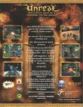 Unreal Mission Pack 1: Return to Na Pali Windows Back Cover