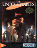 The Untouchables Commodore 64 Front Cover