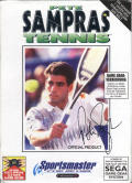Pete Sampras Tennis Game Gear Front Cover