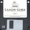 Lands of Lore: The Throne of Chaos DOS Media Disk 1/8