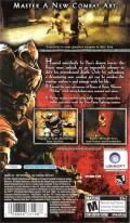 Prince of Persia: Revelations PSP Back Cover