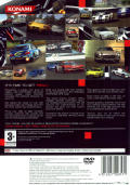 Enthusia: Professional Racing PlayStation 2 Back Cover