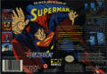 The Death and Return of Superman SNES Back Cover