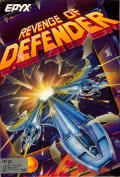 Revenge of Defender Amiga Front Cover