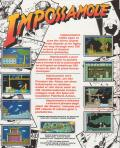 Impossamole Atari ST Back Cover