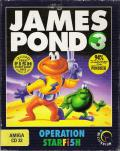 James Pond 3: Operation Starfish Amiga CD32 Front Cover