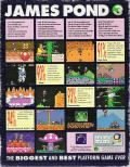 James Pond 3: Operation Starfish Amiga CD32 Back Cover