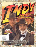 Indiana Jones and The Last Crusade: The Graphic Adventure DOS Front Cover