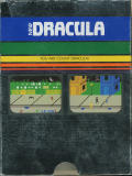 Dracula Intellivision Back Cover Box is silver in colour and reflects poorly when scanned