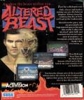 Altered Beast Commodore 64 Back Cover