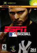 ESPN Major League Baseball Xbox Front Cover