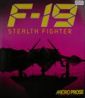 F-19 Stealth Fighter Atari ST Front Cover