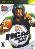 NCAA Football 2003 Xbox Front Cover