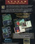 Ultima: The Second Trilogy DOS Back Cover