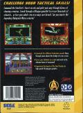 Star Trek: Starfleet Academy - Starship Bridge Simulator SEGA 32X Back Cover