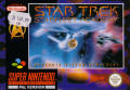 Star Trek: Starfleet Academy - Starship Bridge Simulator SNES Front Cover