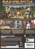 LEGO Star Wars II: The Original Trilogy Xbox 360 Back Cover