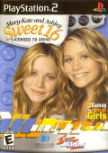 Mary-Kate and Ashley: Sweet 16: Licensed to Drive PlayStation 2 Front Cover