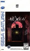Hexen: Beyond Heretic SEGA Saturn Front Cover