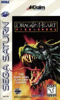 DragonHeart: Fire & Steel SEGA Saturn Front Cover