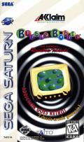 Bubble Bobble also featuring Rainbow Islands SEGA Saturn Front Cover