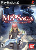 MS Saga: A New Dawn PlayStation 2 Front Cover