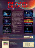 Captain Blood Amiga Back Cover