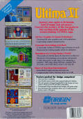 Ultima VI: The False Prophet Amiga Back Cover