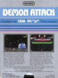 Demon Attack PC Booter Back Cover
